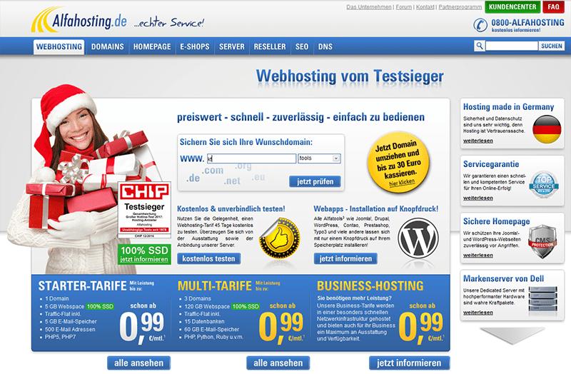 alfahosting erfahrungen wordpress webspace
