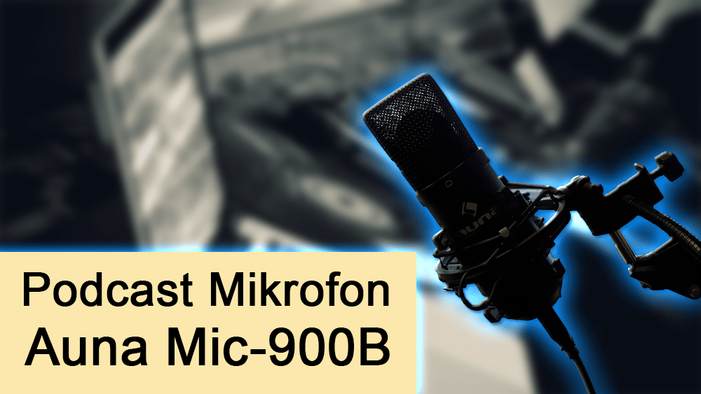 Auna 900b podcast mic mikrofon