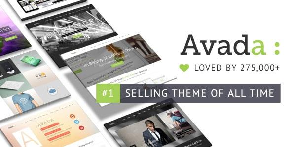 Avada WordPress Themes Themeforest