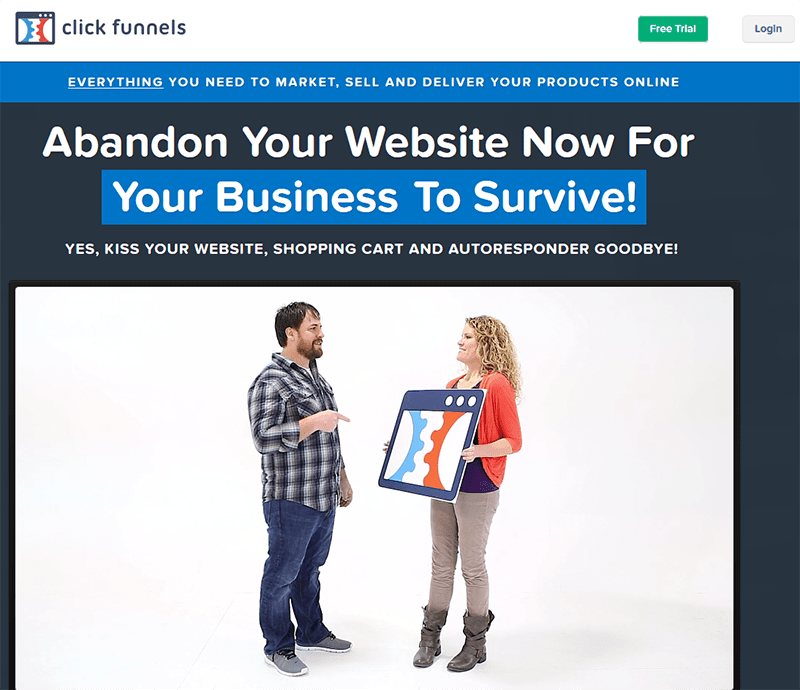 clickfunnels online marketing