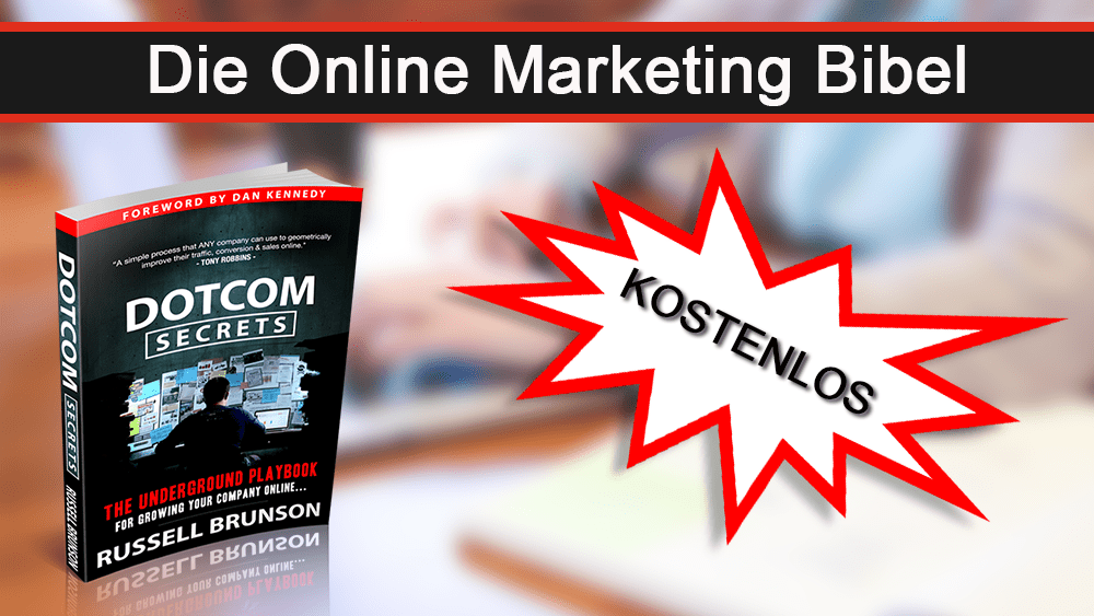 Dotcom Secrets kostenlos marketing buch
