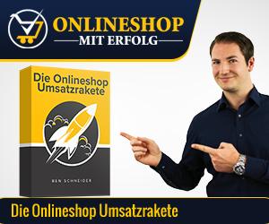 Onlineshop Umsatzrakete Ben Schneider