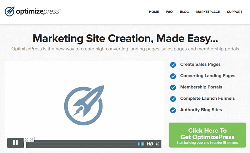 ClickFunnels Alternative OptimizePress