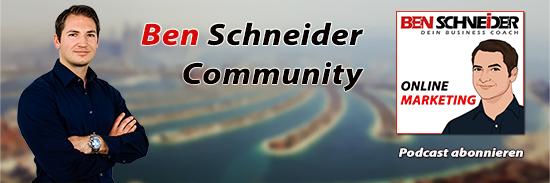 BenSchneider-Facebookgruppe