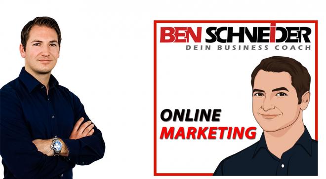 Online Marketing Podcast von Ben Schneider