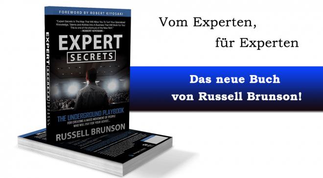 Expert Secrets – Das Online Marketing Buch von Russell Brunson