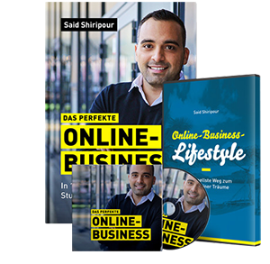 Said Shiripour Online Marketing Buch das perfekte onlinebusiness